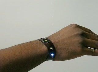 World's Thinnest Programmable Leather Bracelet!