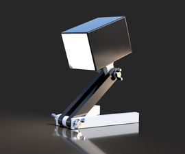 Bedside Lamp (Box) - LED 12V 2.5W - 3D Printed
