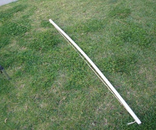 Home-Made PVC Pipe Bow and Arrow