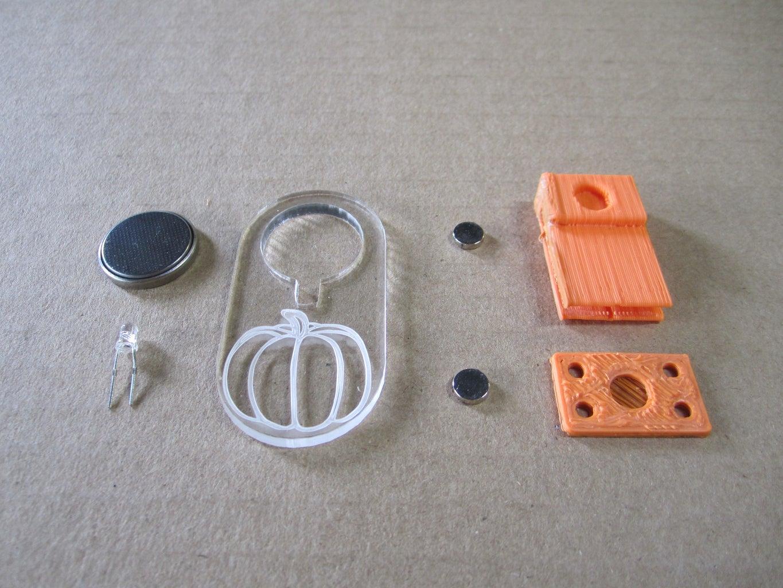 Magnetic Pumpkin Pendant