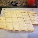 Crumbly Almond Orange Cookies