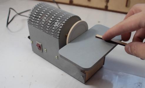 Making a Desk Disc Sander