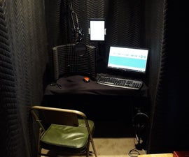 DIY Home Recording Booth ($66.00)