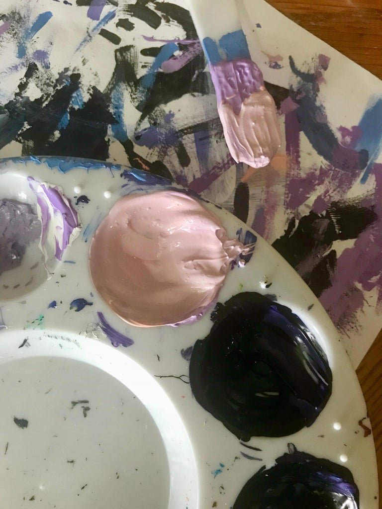 Begin Painting – Mixing Paints