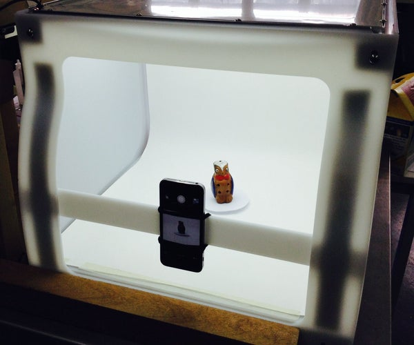 The Microwave: a Color 3D Scanner for Small Objects