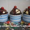 Ice-cream Sundae Cupcakes!