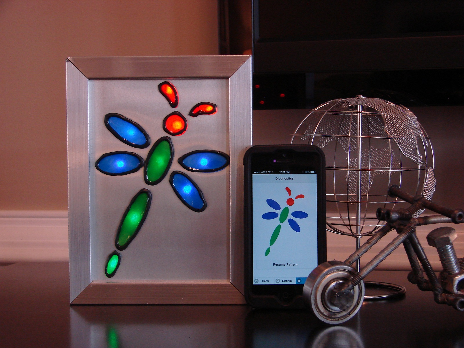Electric Imp WiFi Progress Display