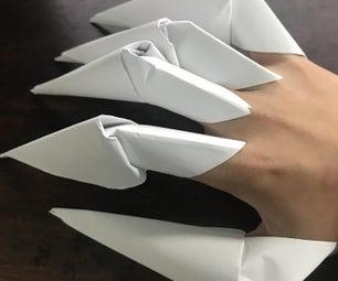 如何创建纸质爪