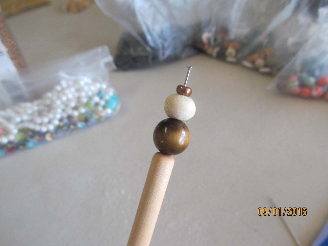 Making the Beaded Top