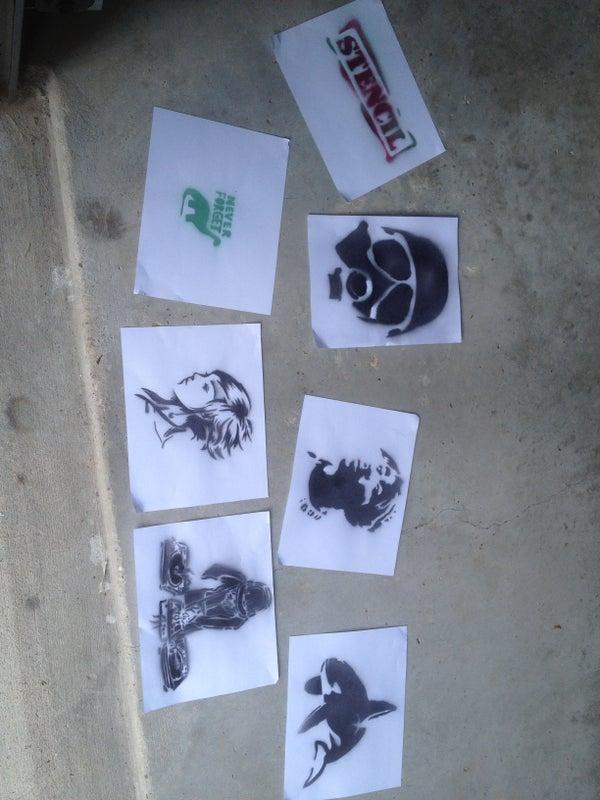 Create Stencils Using Photoshop or GIMP(Free)