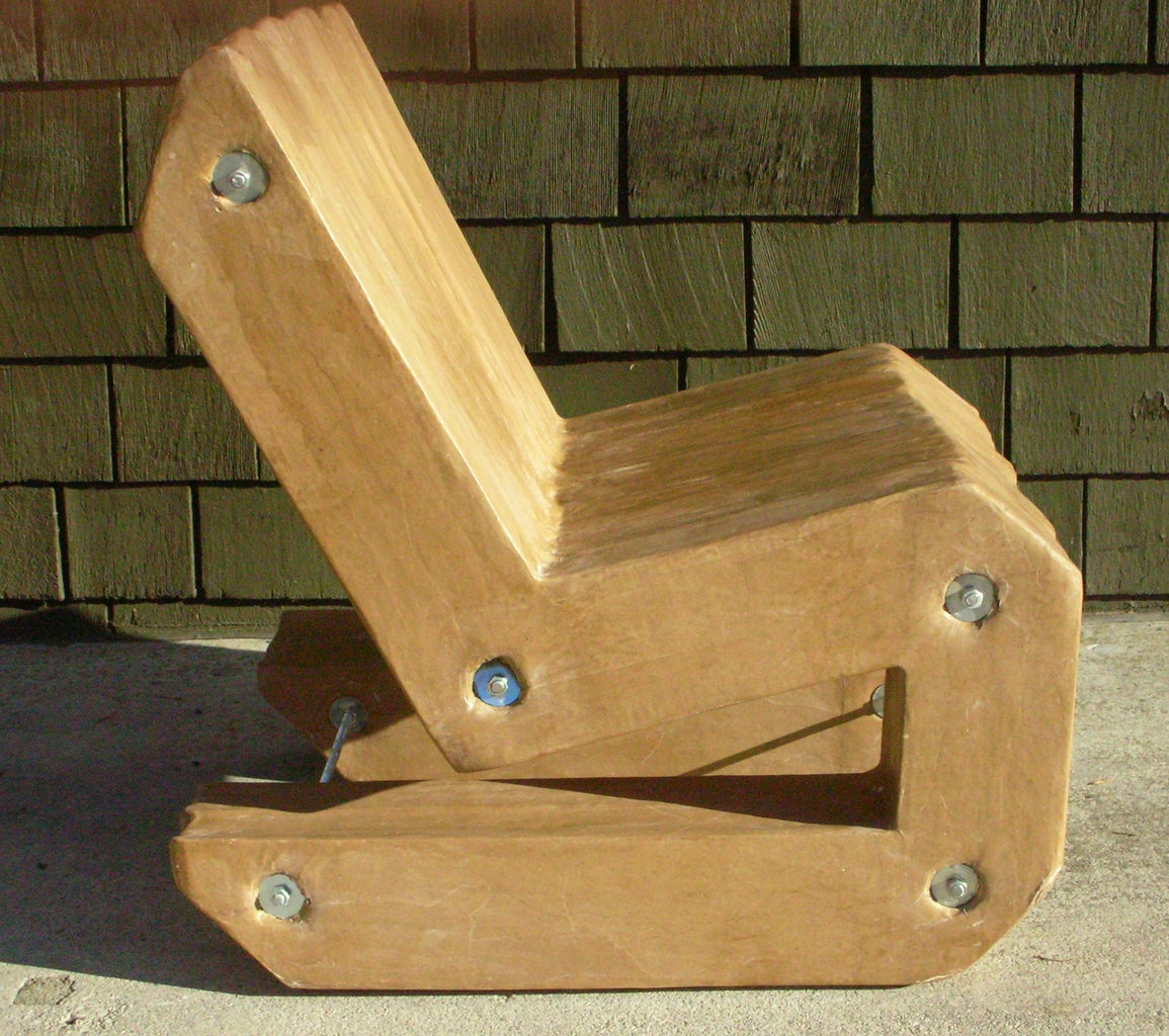 Cardboard Cantilever Chair