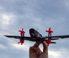 3D Printed Mini RC Airplane