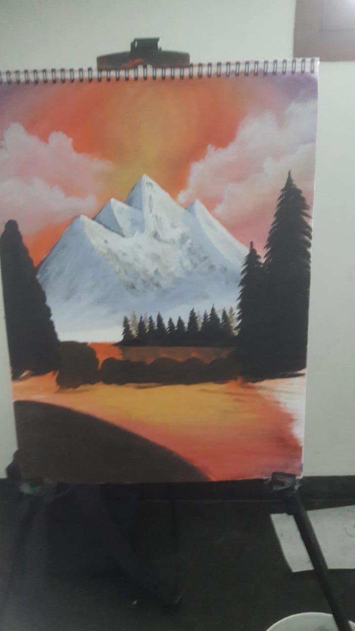 Paint the Trees and Bushes