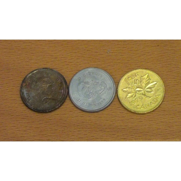 Turn Copper Pennies Into Silver and Gold [Chemistry Trick]