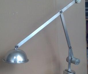 Adjustable Alluminium Lamp Without Wires
