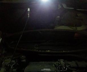 RECHARGEABLE LED CAR BONNET ASSISTANT!