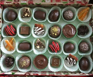 Homemade Assorted Candy Box