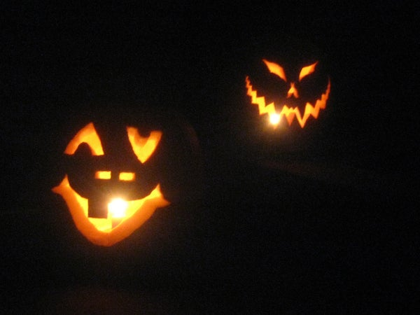 LED Pumpkin Light Controlled by Arduino