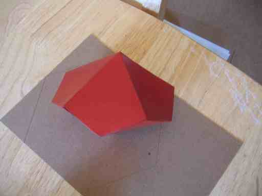 How to make a 10 Sided D&D Die (Not a true Platonic Solid)