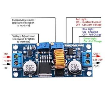 Set XL4015 Outputs