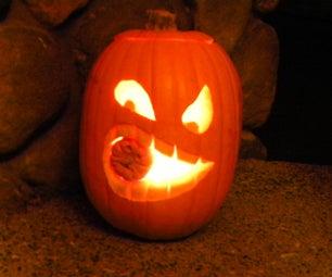How to Make a Cannibalistic Pumpkin