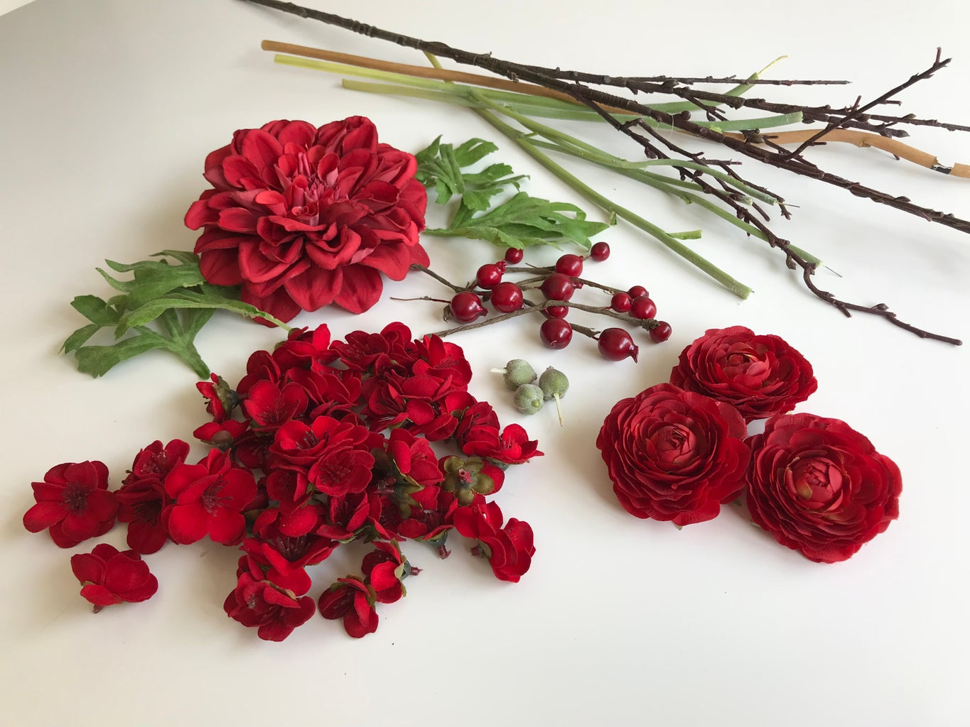 CUT FLOWERS FROM STEAM