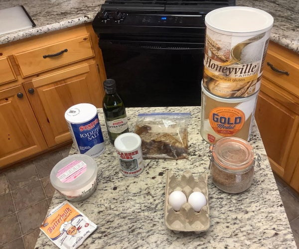 Healthy Banana Bread (24 Weight Watcher Points Per Loaf)