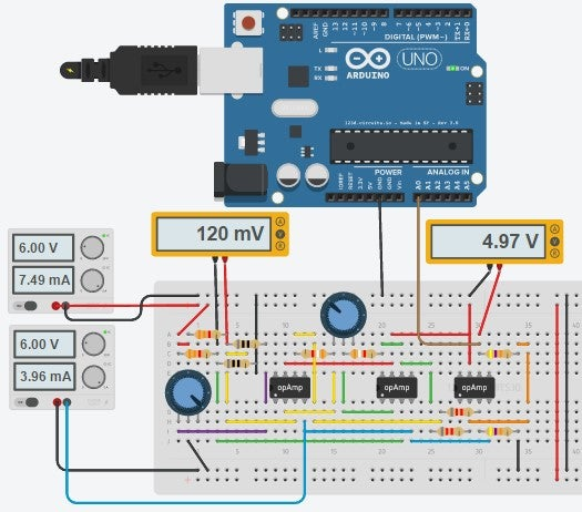 measuring temperature from pt100 using arduino  6 steps