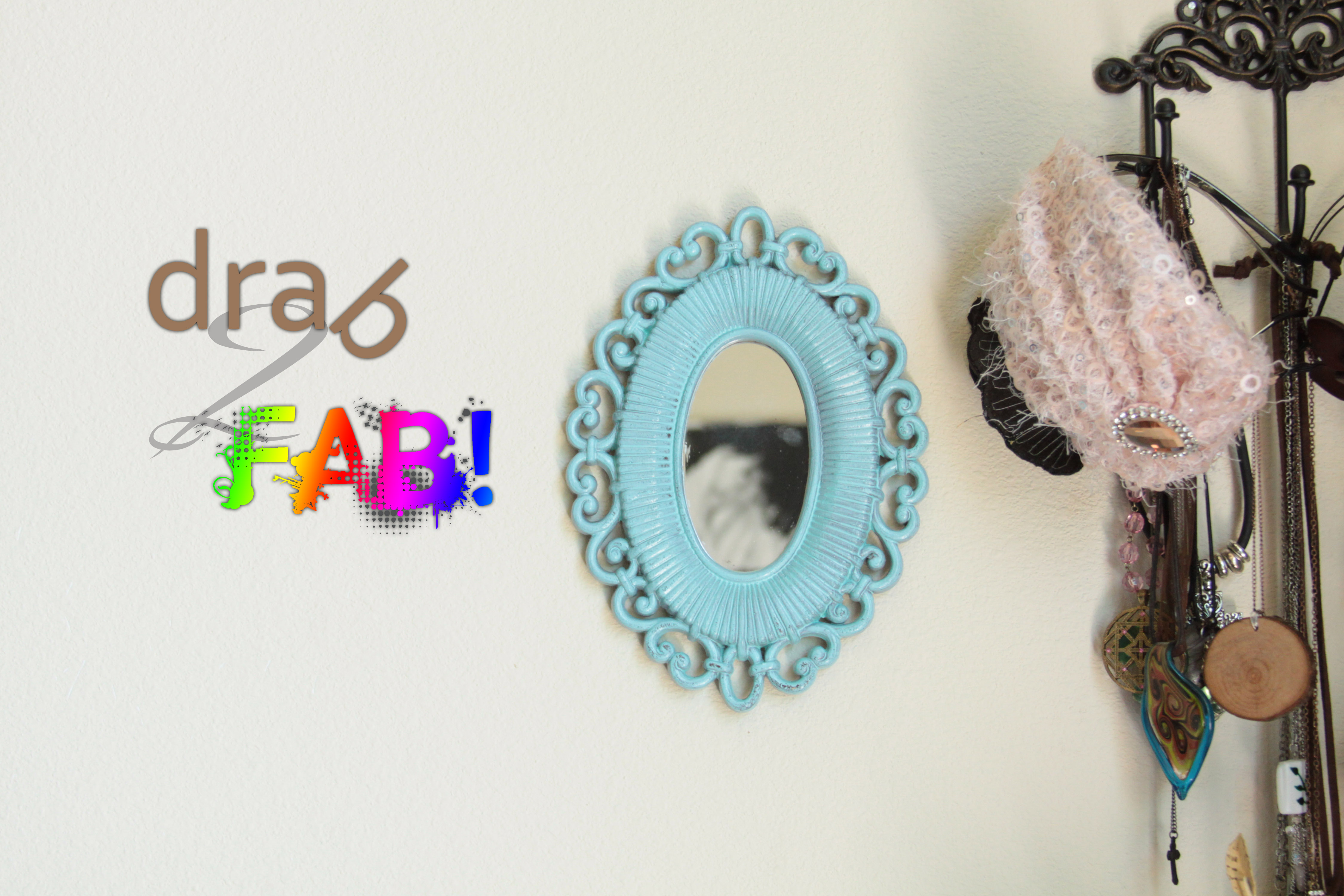 Drab to Fab: Upcycled Mirror