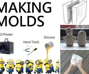 Mold Making: Silicone   Plaster   Casting   Acrylic   Finishing