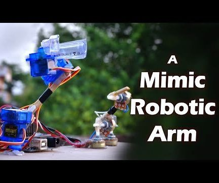 Simple Mimicking Robot Arm Using Arduino