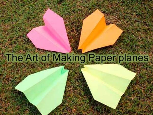 Super Simple Paper Plane