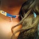 DIY Spongebob Choker Necklace