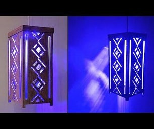 How to Make Hanging Lamp