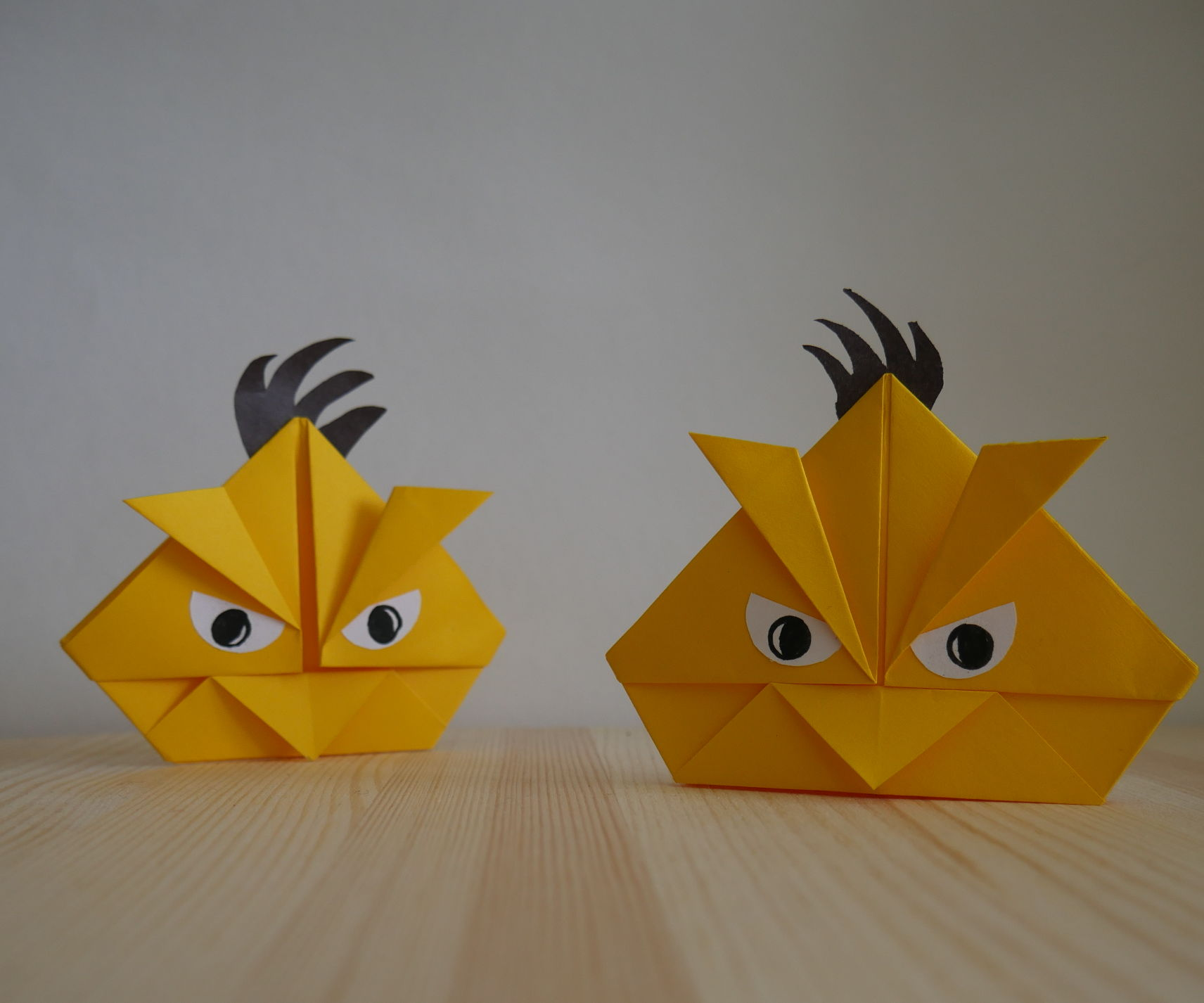 Origami Angry Birds