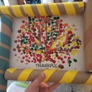 Wrapping Paper Roll Picture Frame