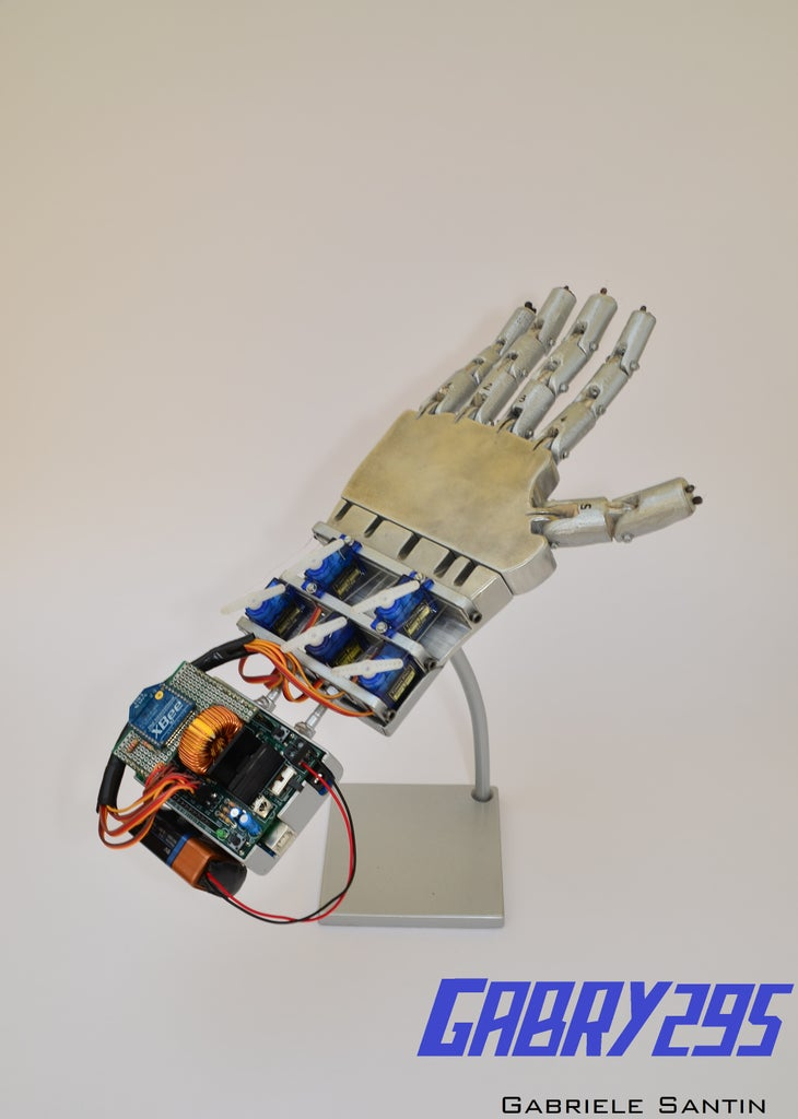 Making the Robotic Hand