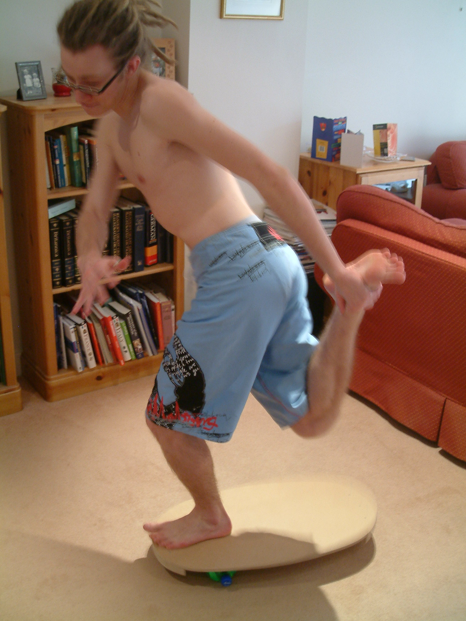Balance board for sports training and general fun!