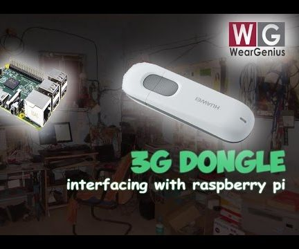Connecting 3G Dongle | Raspberry Pi