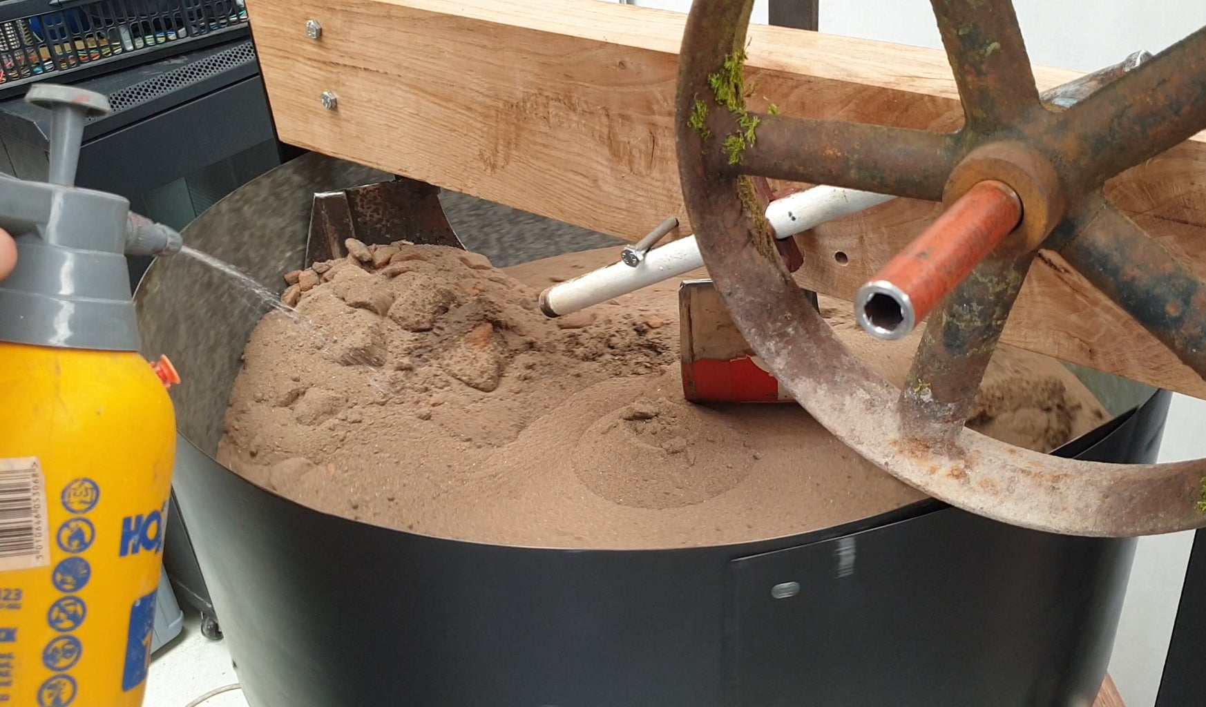 Green Sand Muller - Use