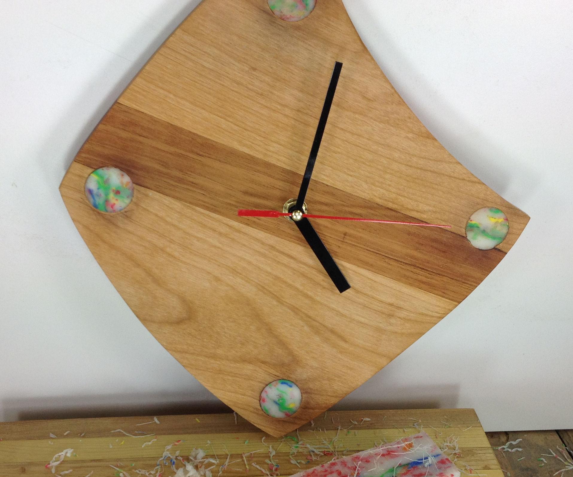 How To Make A Retro Wall Clock