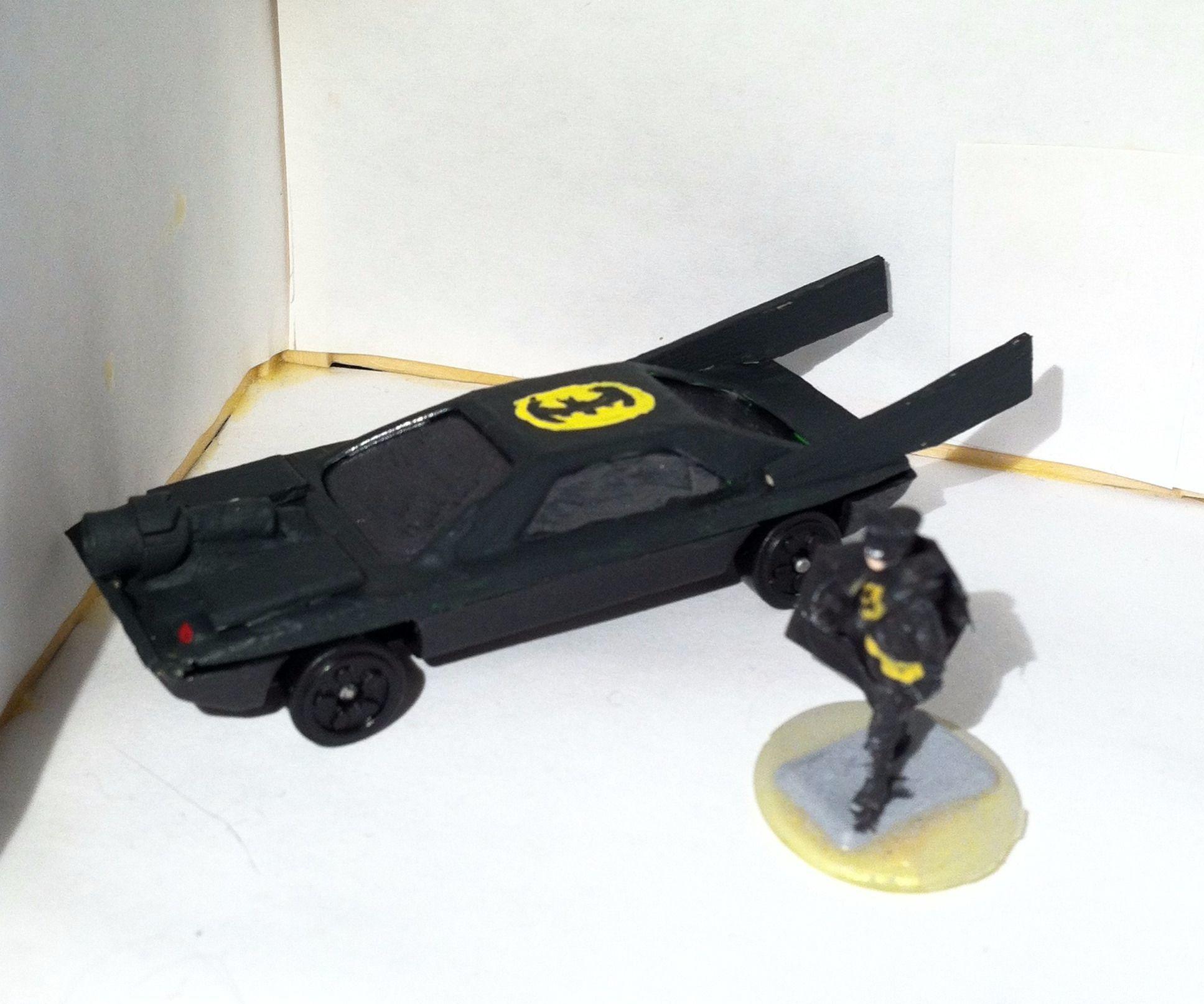 1/72 Scale Batmobile
