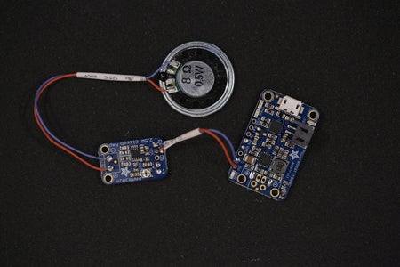 Speaker and Audio Board and HeadPhone Jack (A.K.A. Tying It All Together)