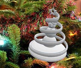 Making a Winter Wonderland Ornament