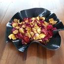 JoY's Rawcopiednature bowl from vinyls