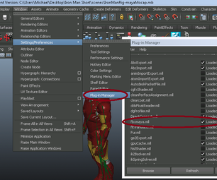 UPDATED: How to Use Mocap Files in Maya, BVH or FBX