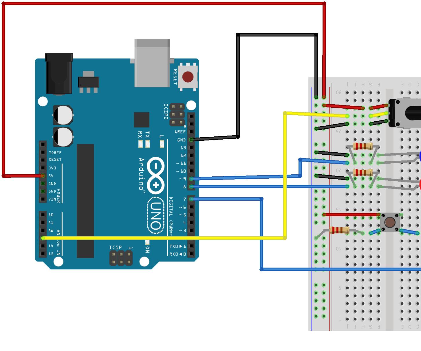 Arduino Dual LED's