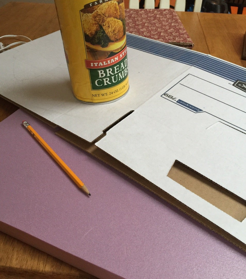Get Your Cardboard Together and Begin Designing With Your Pencil.