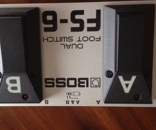 Externe Stromversorgung Boss FS-6 Doppelfußschalter