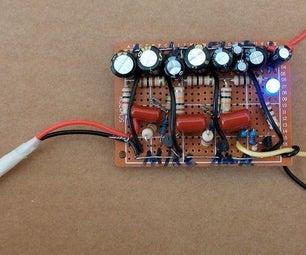 晶体管麦克风放大器